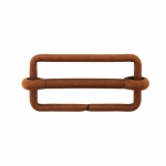 Metal triglide buckle, fashion buckle 47x25 mm for belt width 40 mm