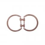 Connector parts, metal buckles 74x40 mm, for belt width 25 mm
