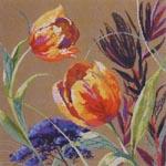 Lillekimp tulpidega