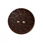 Wood Button 35mm