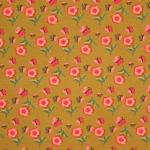 Lillede ja liblikatega, veniv, öko puuvillasegu kangas 4604, 150cm, Stenzo textiles