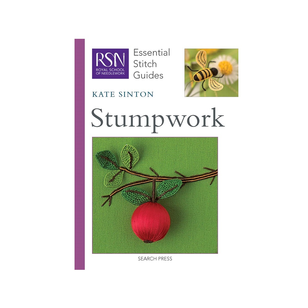"Raamat ""RSN Essential Stitch Guides: Stumpwork"""