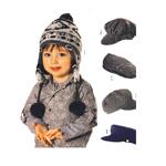 Mütsid 50, 52, 54cm (pea ümbermõõdule)/Caps Burda 9507