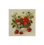 Cross-Stitch Kit Garden Strawberry1449 / Riolis