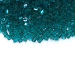 Czech he x agon Bugle Beads, No.10 (2,3 mm), Preciosa