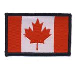 Triigitav Aplikatsioon; Kanada lipp / 6,3 x 4cm