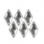 Tahulised dekoratiivkivid, rombikujulised 15x9mm, 6tk pakis