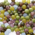 Pärlisegu Sinakates-rohekates-pruunikates toonides pärlitest 6mm, 100/50g pakk