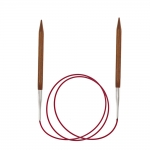 Circular Knitting Needles Cubics Symfonie Rose, 80 cm