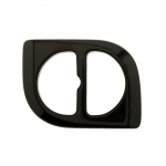 Plastic triglide buckle, fashion buckle 60x45 mm, for belt width 30 mm