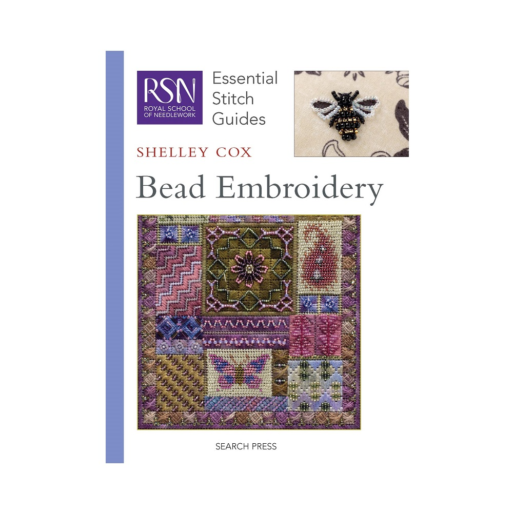 "Raamat ""RSN Essential Stitch Guides: Bead Embroidery"""