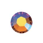 Triigitavad (e.kuumkinnituvad) lamepõhjalised Swarovski klaaskristallid SS10 (2,8-2,9mm)