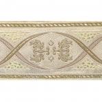 Ornamendiga kirju metallik pael 68 mm, 70057