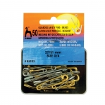 Brass Guarded Safety Pins; 50pc, Pony  85103