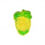 Ananassikujuline, kannaga plastiknööp /Plastic Button/ 18x14mm/28L