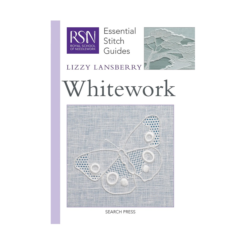 "Raamat ""RSN Essential Stitch Guides: Whitework"""