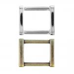 D-ring, half ring for tape/belt width 20 mm