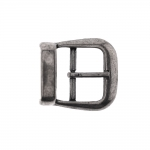 Metal buckle, 40x35 mm for belt width 25 mm