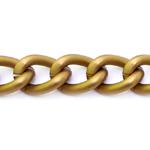 Декоративная металлическая цепь, массивная, 30 x 20 x 6 мм