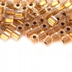 Kandilised, ristkülikukujulised terahelmed 4x3mm Miyuki (Jaapan) / Miyuki Seed Beads