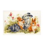 Cross-Stitch Kits 1416 Funny Rabbits
