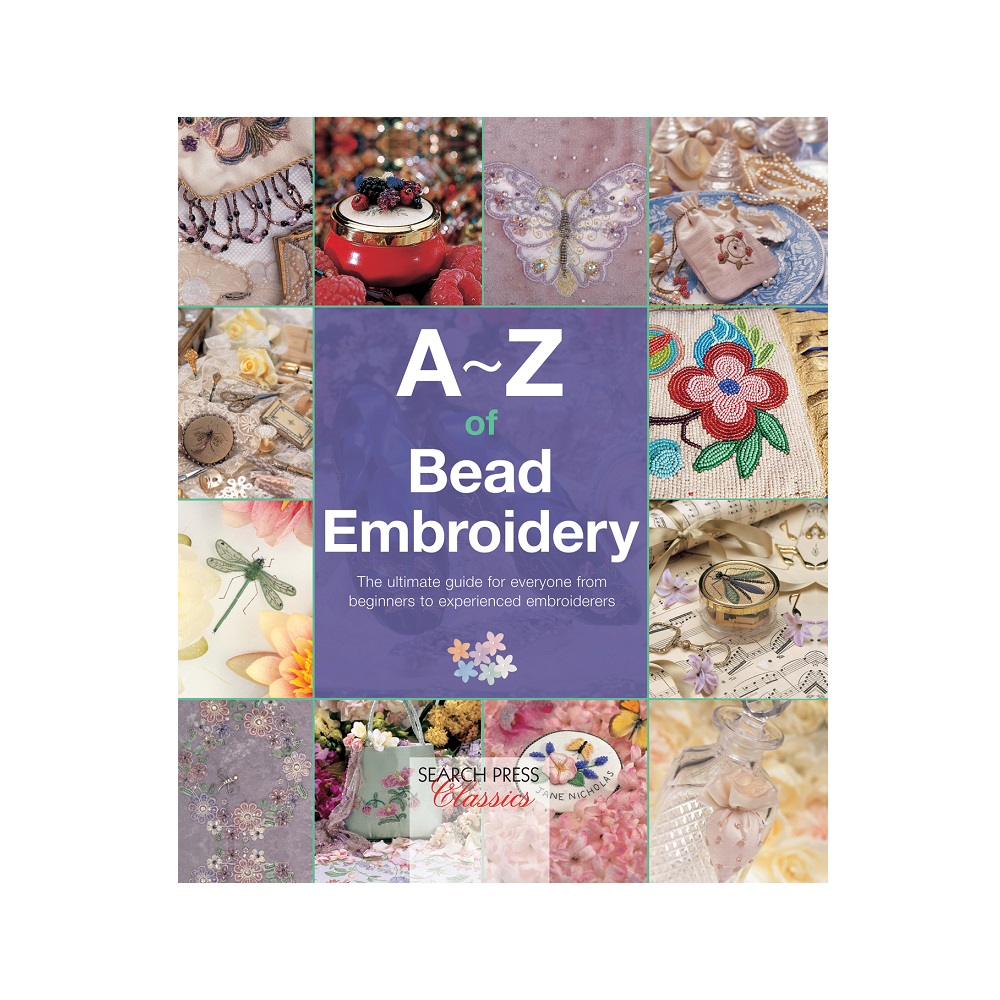 Raamat `A-Z of Bead Embroidery`