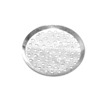 Antique Silver Circular Brooch Base / 30mm
