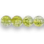Läbipaistev hõbedase küljega ümar mõraline klaashelmes 8mm