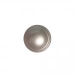 Metallilaadne, ümara pinnaga, kannaga nööp 12mm, 18L