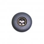Must antiikpronks metallist sisuga nööp ø20 mm, 32L