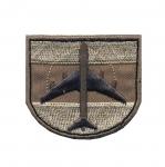 Triigitav Aplikatsioon; Sõjalennuk 5,5x5cm