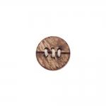 Naturaalne, nöörpunutistega, kannaga kookosnööp, 23mm, 36L