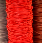Natural Leather Cord, ø 2 mm diameter