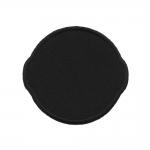 Piltaplikatsioon: Ümara vormiga, ühevärviline, tumedates toonides 7 x 6,5 cm
