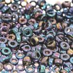 Pärlisegu Violetsetes toonides pärlitest AB-kattega 6-7,5mm, 100/50g pakk