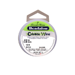 7 Strand Bead Stringing Crinkle Wire / 0,38mm; 4,6m