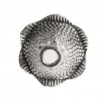 Koonusekujuline, reljeefse mustriga pärlikübar / Bead Cup / 21x17mm