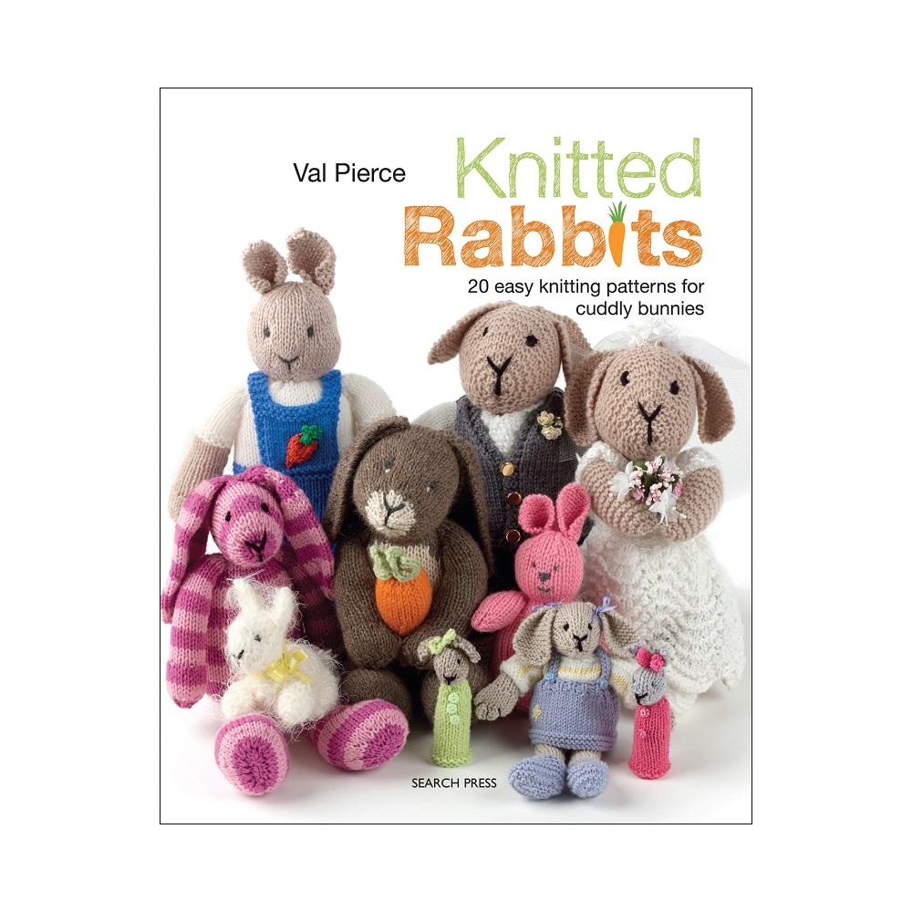 "Raamat ""Knitted Rabbits"""