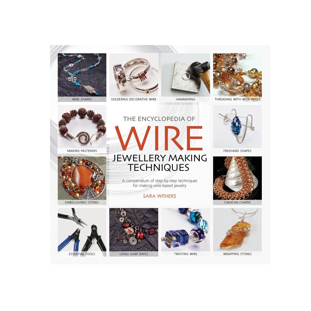 "Raamat ""The Encyclopedia of Wire Jewellery Techniques"""