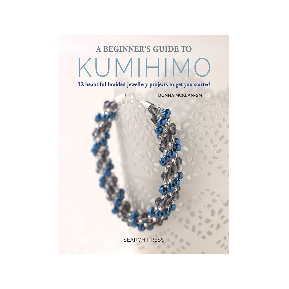 "Raamat ""A Beginner`s Guide to Kumihimo"""