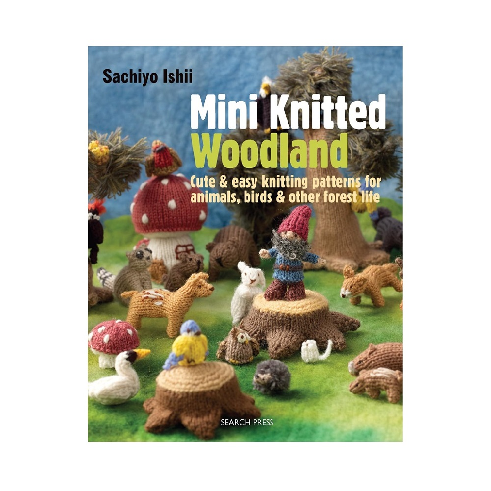"Raamat ""Mini Knitted Woodland"""