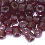 Torujas tahuline klaashelmes, 4mm- auguga; 9x6mm