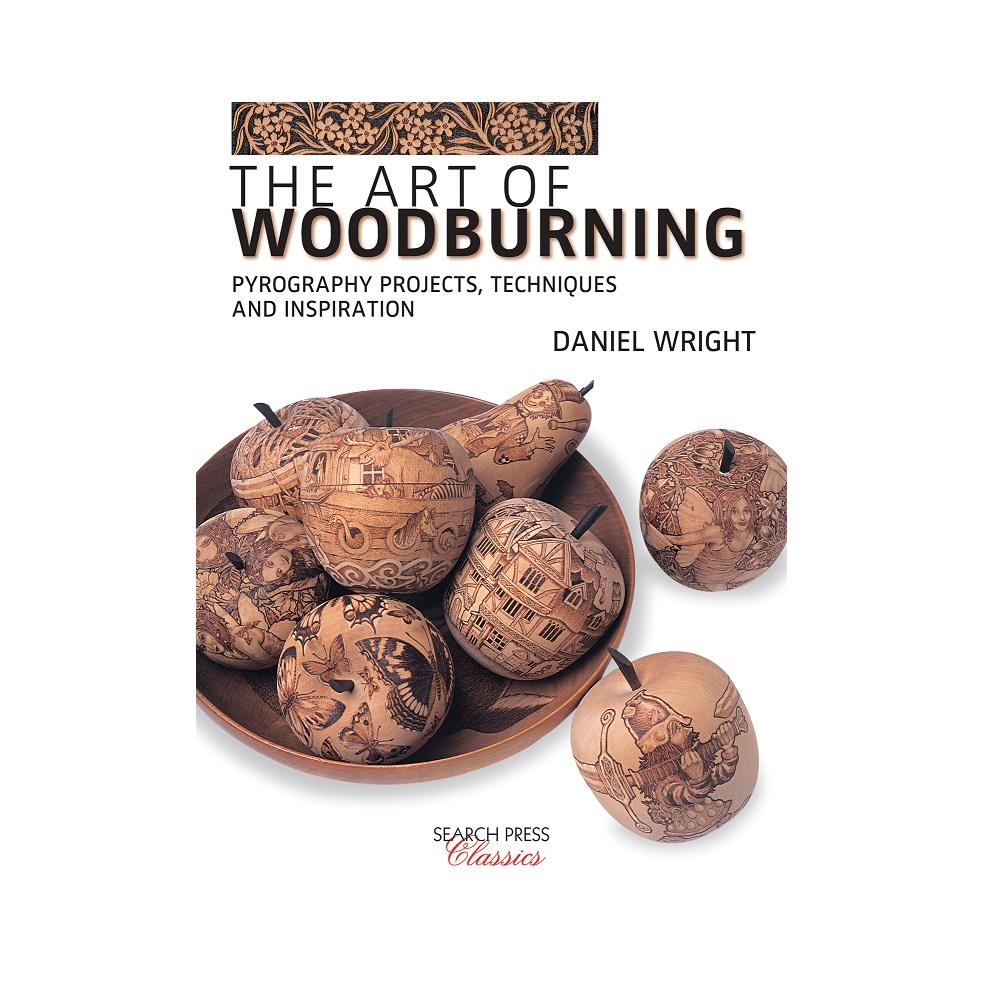 "Raamat ""The Art of Woodburning"""