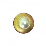 Metallist, kuldne, reljeefse mustriga, kannaga nööp 21mm, 32L