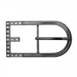 Metal buckle, 85x45 mm for belt width 35 mm