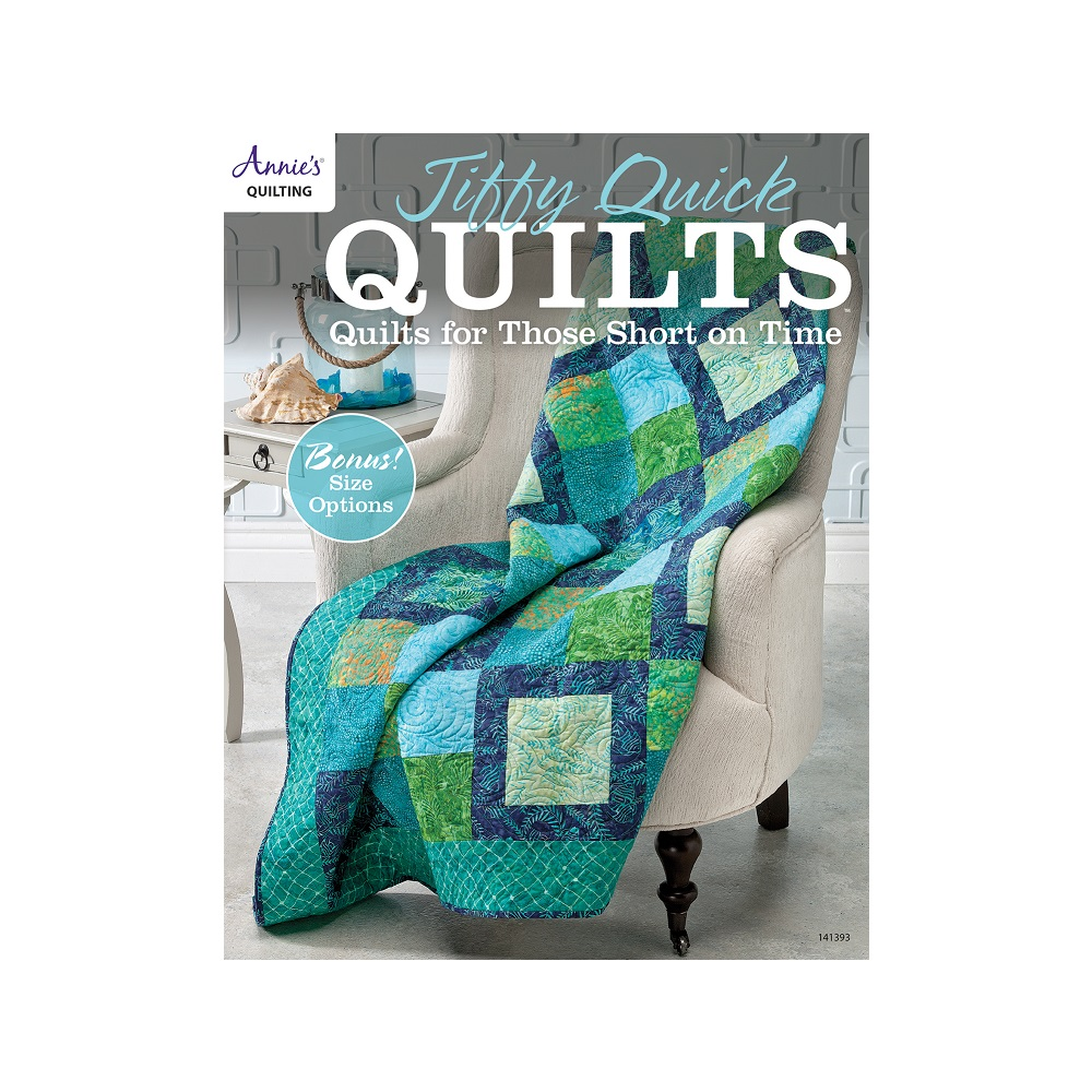 "Raamat ""Jiffy Quick Quilts"""
