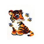 Tikkimiskomplekt Tiigrikutsu mesilastega / Riolis (Venemaa)  HB-092