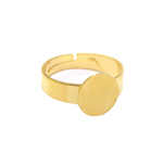 Round Finger Ring Base / 10mm