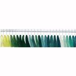 Masintikkimisniit Shanfa 3000y - värvivalik 4 rohekad toonid