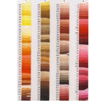 Anchor mouline, cotton floss, Color Palette No.1